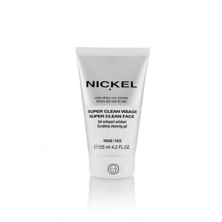 Nickel Super Clean Visage - Gel Nettoyant Gommant 125ml