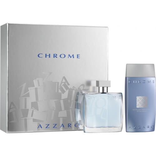 Coffret Chrome - Gel Douche + Eau de Toilette