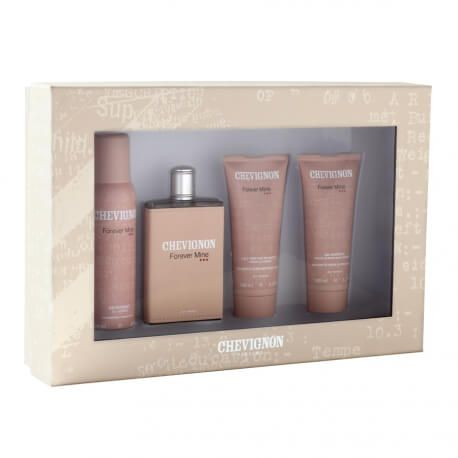 Chevignon Coffret Forever Mine for Women - 3 Produits + Eau de Toilette