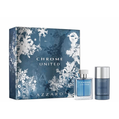 Coffret Chrome United - Déodorant + Eau de Toilette