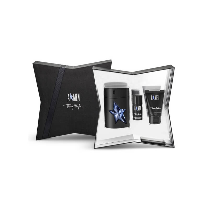 mugler coffret a men luxe 2 produits eau de toilette. Black Bedroom Furniture Sets. Home Design Ideas