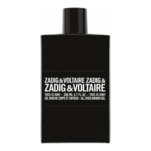 Zadig & voltaire this is him - gel douche 200ml