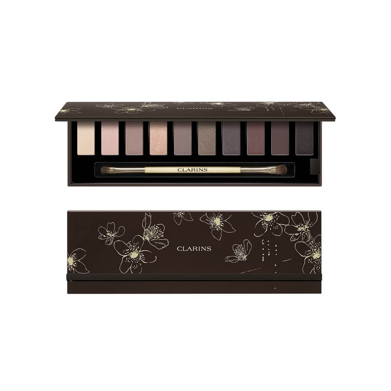 clarins palette no l 2016 maquillage des yeux 10 fards pas cher. Black Bedroom Furniture Sets. Home Design Ideas