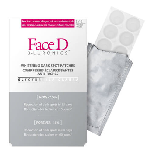 Faced patchs eclaircissants anti tâches x 30