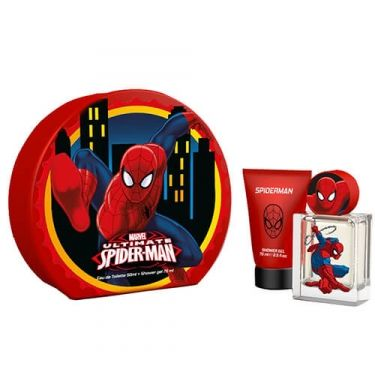 Coffret Spider Man Noël 2017 - Eau de Toilette Vapo.50ml