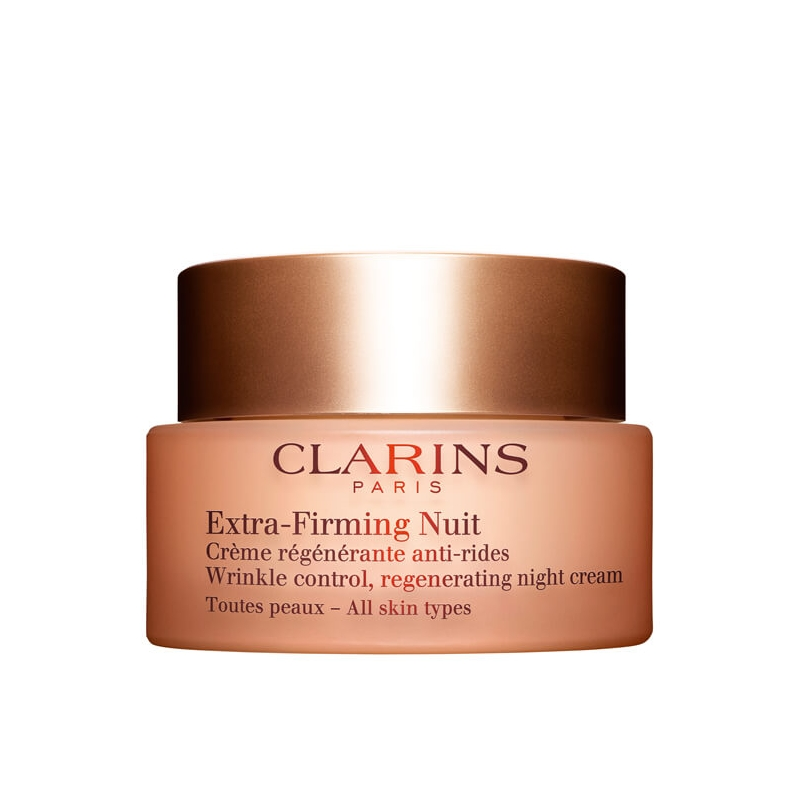 clarins extra firming nuit cr me r g n rante anti rides toutes peaux pas cher. Black Bedroom Furniture Sets. Home Design Ideas