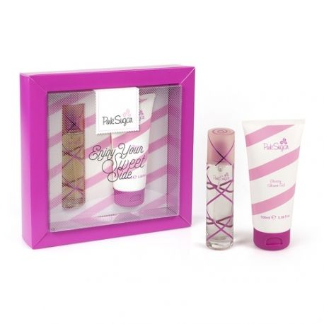 Coffret Secret Pink - Gel Douche 100ml + Eau de Toilette Vapo 30ml