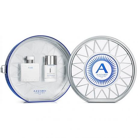 Coffret Chrome Pure - Eau de Toilette + Déodorant