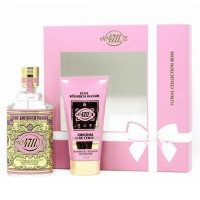 Coffret Floral Collection Rose - Eau de Cologne + Gel Douche