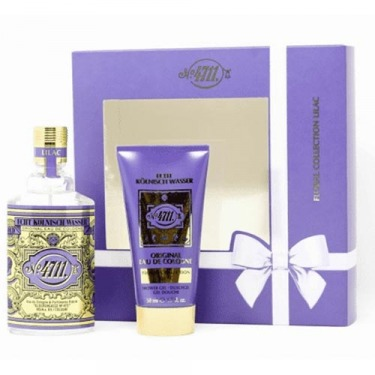 Coffret Floral Collection Lila - Eau de Cologne + Gel Douche