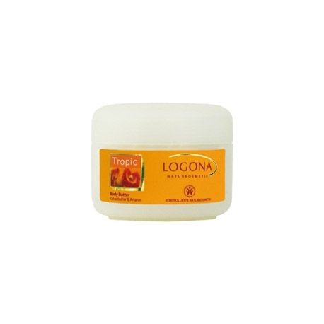 Logona Tropic - Beurre Corporel Ananas Papaye - Pot 200ml