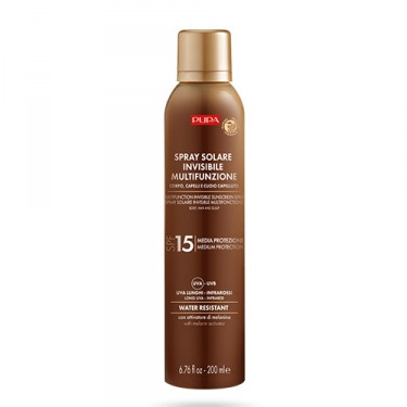 Spray Solaire Invisible Multifonctions - SPF15