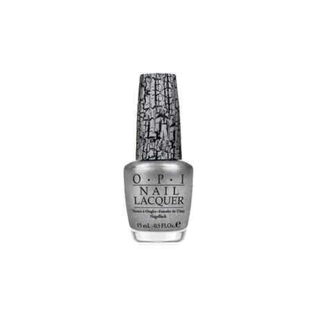 OPI Vernis à Ongles NLE62 - Silver Shatter 15ml