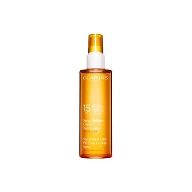 Clarins Spray Solaire Lotion Non Grasse - Moyenne Protection Spécial Sports UVB15 150ml