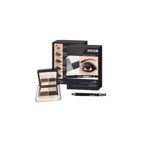 Pupa Smoky Eyes - Kit Brun