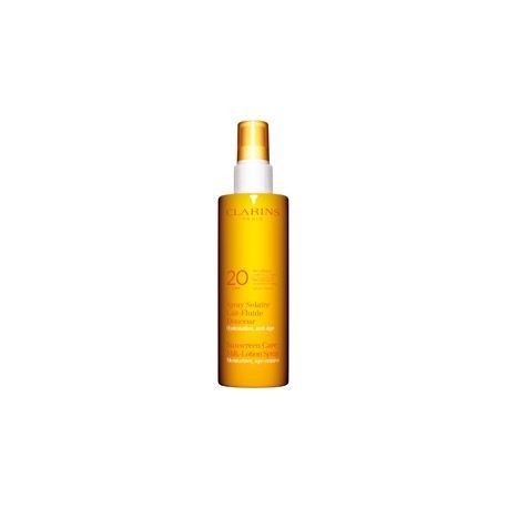 Clarins Spray Solaire Lait Fluide Douceur - Moyenne Protection UVB20 150ml