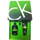 Coffret CK One Shock for Him - Gel Douche + Eau de Toilette