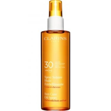Spray Solaire - Huile Embellissante Haute Protection - UVA/UVB 30
