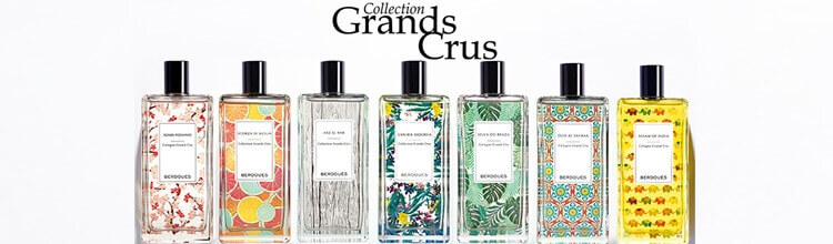 Berdoues parfums collection Grands Crus