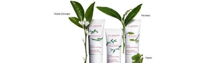 Clarins soins du corps