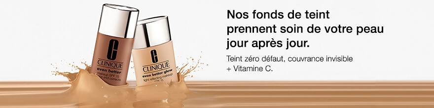 Soin Clinique Even Better Fond de teint, maquillage visage Clinique