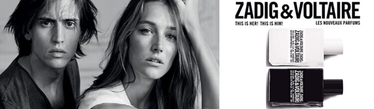 Zadig & Voltaire parfums This is Her ! et This is Him !