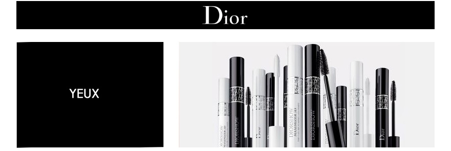 Maquillage Yeux Dior Visage maquillage des Yeux : mascara, crayon, ombres