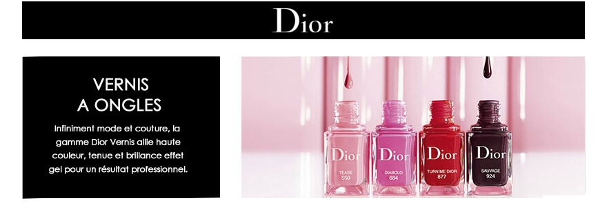 Maquillage des ongles Dior Vernis à Ongles Dior